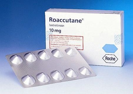 Roaccutane package